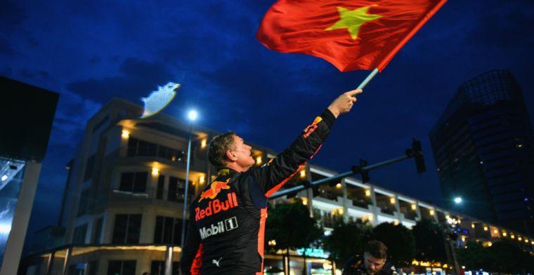 Vietnam Grand Prix set help geographically organised calendar