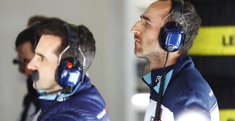 Williams lijkt te kiezen voor Robert Kubica voor 2019