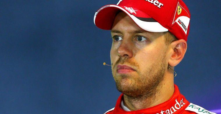 Sebastian Vettel moet op het matje komen na slopen FIA-weegschaal!