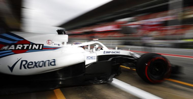 Williams neemt afscheid van Martini-livery tijdens GP van Brazilië