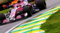 Afbeelding: Force India krijgt een tik te verwerken in Brazilië