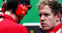 Afbeelding: Sebastian Vettel reed noodgedwongen met andere instellingen