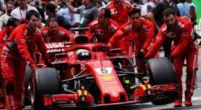 Afbeelding: Sebastian Vettel is gevoelig voor alles in en rondom de wagen