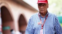 "Image: Lauda ""determined"" to make it to Abu Dhabi"