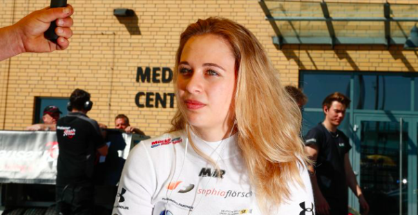 Sophia Florsch: F3 driver has no fear of paralysis