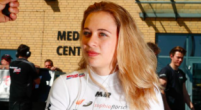 "Image: Sophia Florsch: F3 driver has ""no fear of paralysis"""
