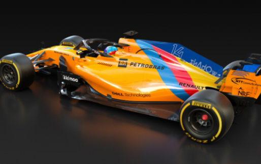 Image: Alonso's car gets special livery for his final F1 race!