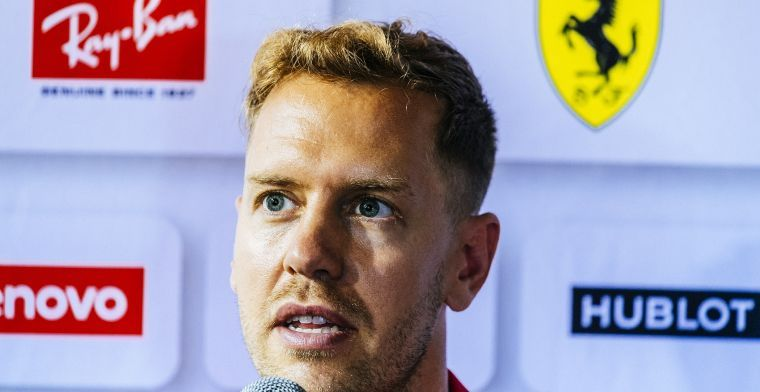 Vettel vows to come back stronger in 2019