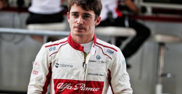 Leclerc emotional ahead of Ferrari test next week in Abu Dhabi
