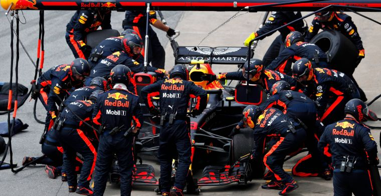 Red Bull wint DHL Fastest Pitstop Award