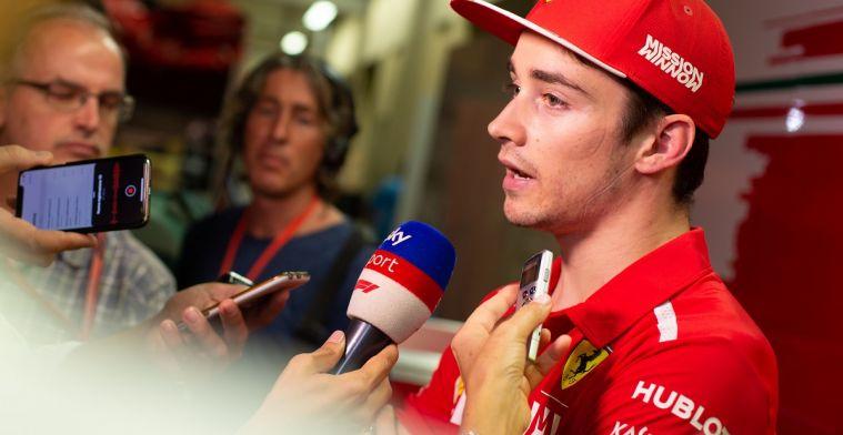 Leclerc over verschil Vettel: 'Je kunt na twee dagen geen vergelijkingen maken'