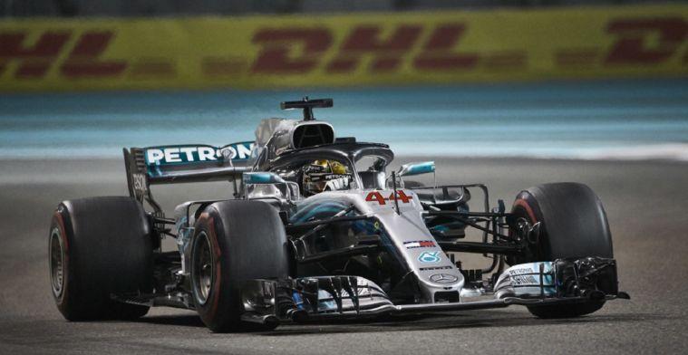 Mercedes: De reden waarom Lewis Hamilton zo vroeg naar binnen kwam in Abu Dhabi