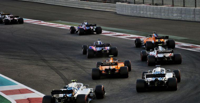 Vier belangrijke veranderingen in de Formule 1 in 2019
