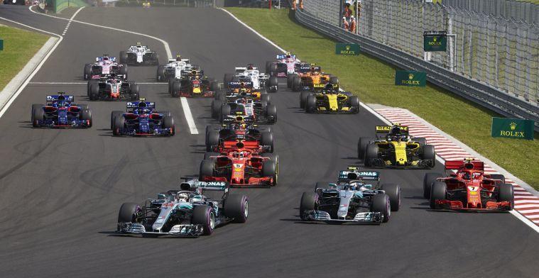 F1-directeur: We kunnen kijken of de startgrid anders moet worden bepaald