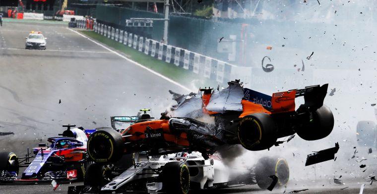 FIA sluit onderzoek Spa af: 'Zonder Halo was Leclerc mogelijk zwaargewond'