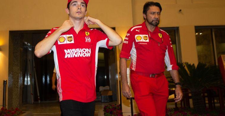 Montezemolo: Leclerc moet wel begrijpen dat hij voor Ferrari werkt