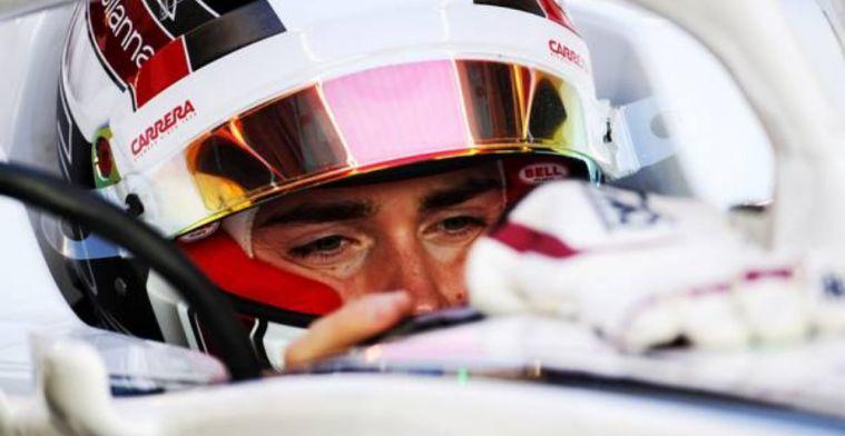 FIA reveal Halo protection in Leclerc crash