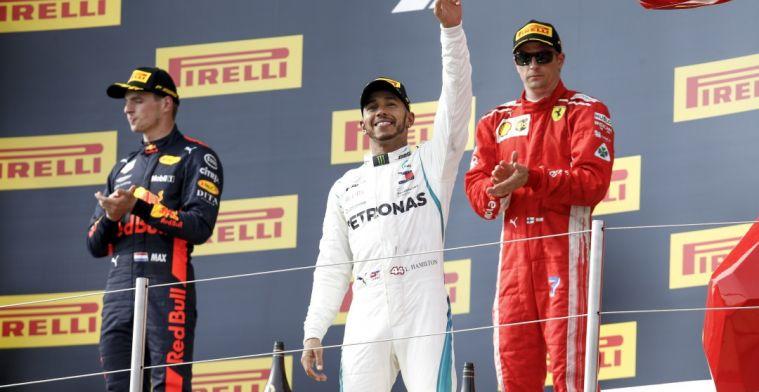 Hamilton: 'Het doel is om de komende twee jaar Ferrari en Red Bull te verslaan'