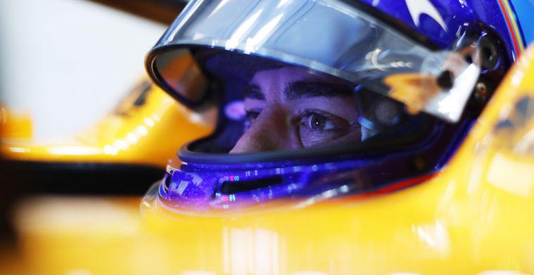 Zo snel is het reactievermogen van Fernando Alonso