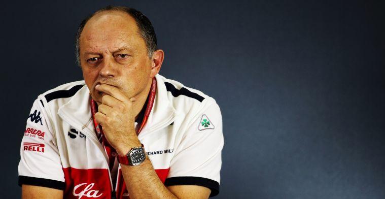 Ericsson moest het niet afleggen tegen Giovinazzi: Ging tussen hem en Kimi