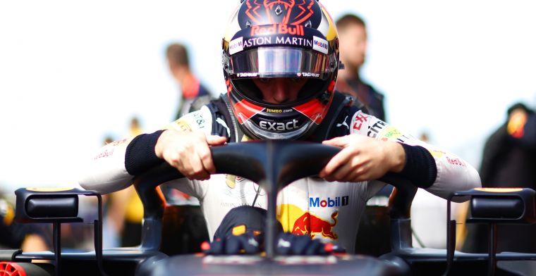 """Verstappen: """"Straf van Italiaanse GP vind ik nog steeds onterecht"""""""