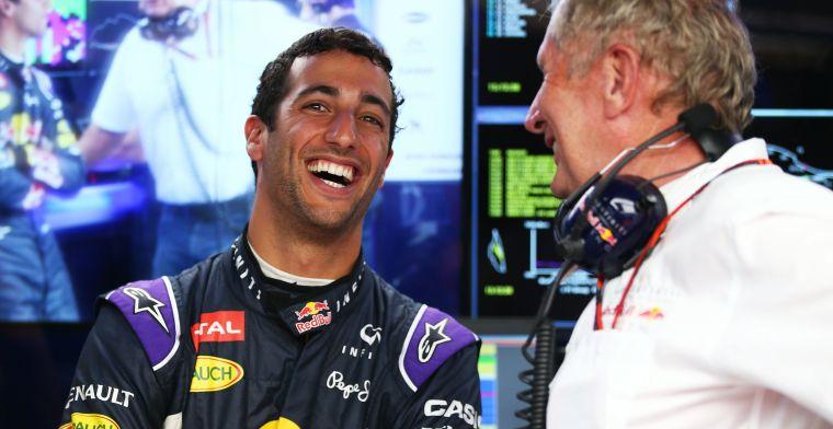 Daniel Ricciardo: Ik ga de telefoontjes van Helmut Marko het minst missen