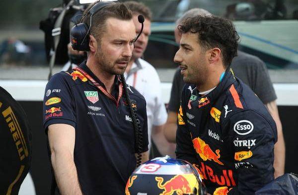 Ricciardo: ''De pijn van mij is de pijn van het hele team''