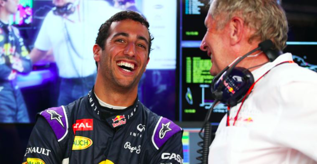Ricciardo says he will miss Helmut Marko the least when he moves to Renault