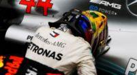 """Afbeelding: Hamilton prijst Mercedes: """"Ik ben gewoon een schakel in de ketting"""""""