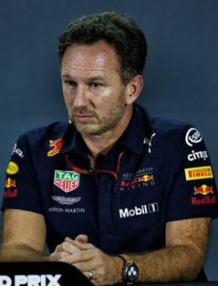 Image: Horner blames engine for Red Bull struggle but is positive for next season