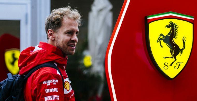Vettel: 'Helft van de wereldtitels die Schumi won bij Ferrari zou al genoeg zijn'