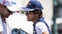 """Afbeelding: Stroll mag blij zijn met Perez: """"Sergio is goed vergelijkingsmateriaal voor Lance"""""""