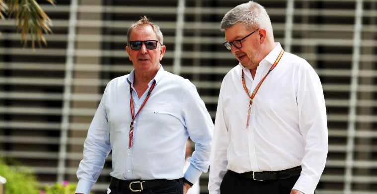Martin Brundle ziet toekomst van McLaren en Williams somber in