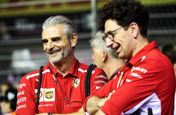 Arrivabene axed to keep Binotto in the team