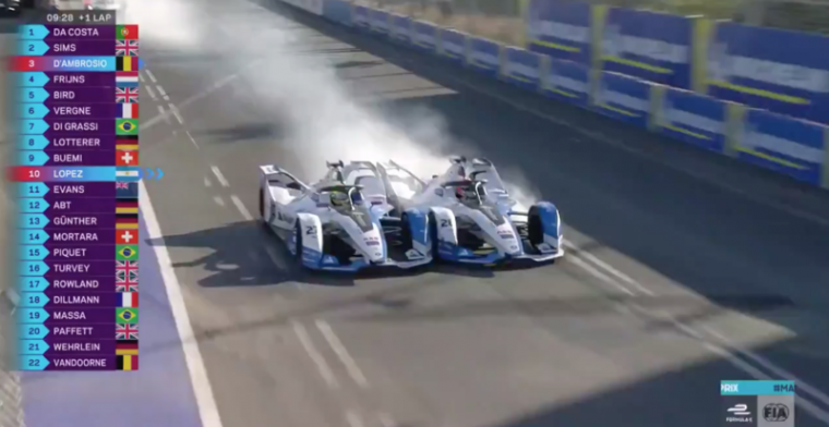 WATCH: BMW Andretti throw away a one-two finish!