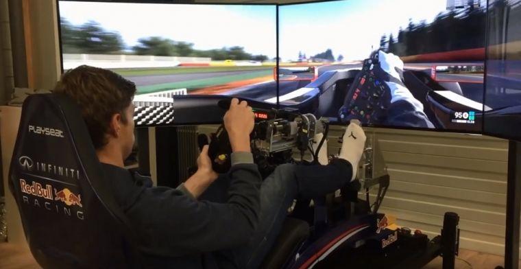 Simmaatje van Max Verstappen: Hij is gigantisch snel en rijdt zo perfect
