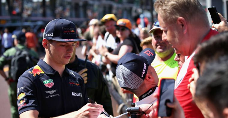 Verstappen happy with interesting day with stewards