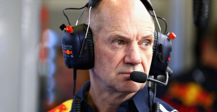 Red Bull heeft de handen vol: Constant pogingen Newey weg te kapen