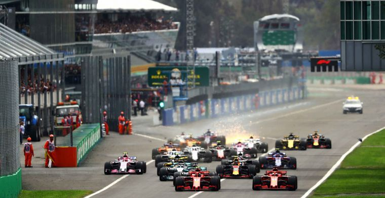 Formule 1 groeide in 2018 opnieuw in kijkers en socialmediagebruikers
