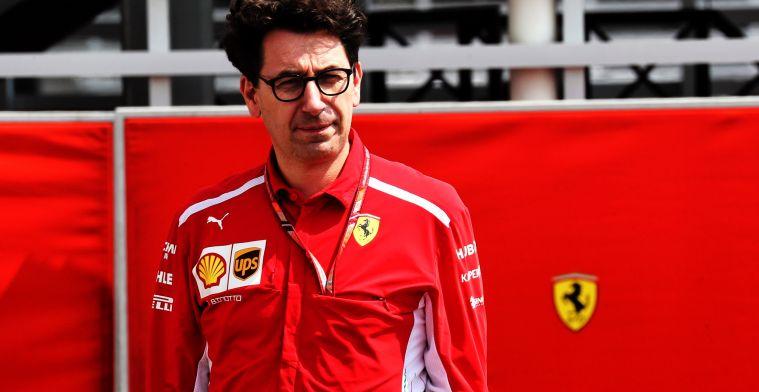 Voormalig Ferrari-teambaas: Mattia Binotto zal het zwaar krijgen