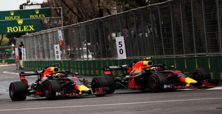 Red Bull admits Verstappen should have stopped Baku crash with Ricciardo