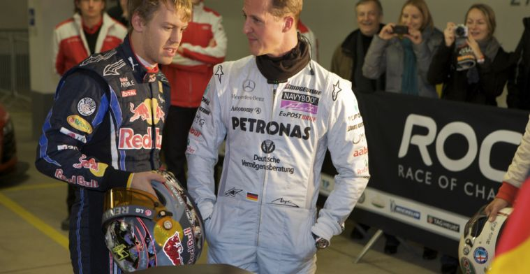 Vettel knows Michael Schumacher would be proud of son Mick