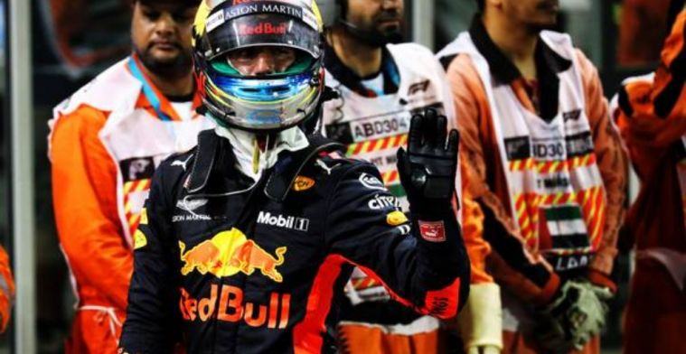 Renault were flattered that Ricciardo wasn't allowed to test in Abu Dhabi