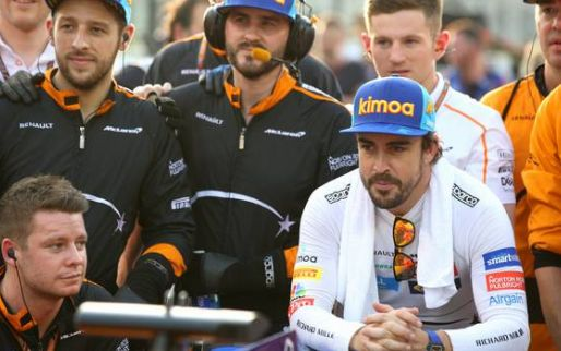 Image: Fernando Alonso is 'enjoying every lap' in Daytona