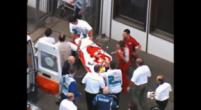 Image: The accident where Felipe Massa suffered a skull fracture