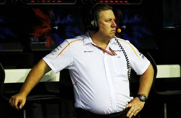 Brown anticipating good McLaren car