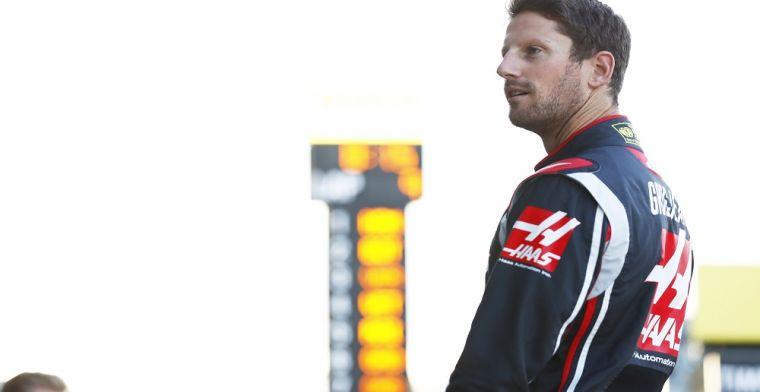 Romain Grosjean shows off new helmet for 2019!