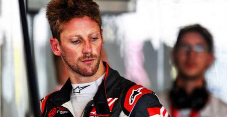 Grosjean insists he won't win a race before 2021