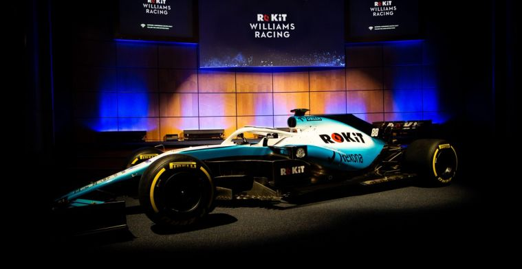 Williams shows off new livery for 2019 F1 season