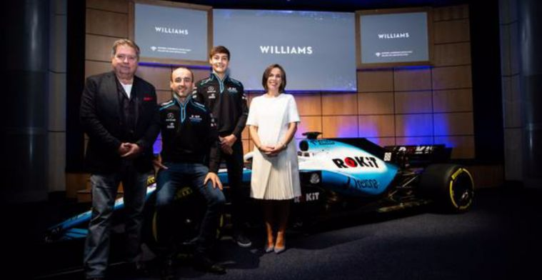 The Twitter world show their disappointment with new Williams livery
